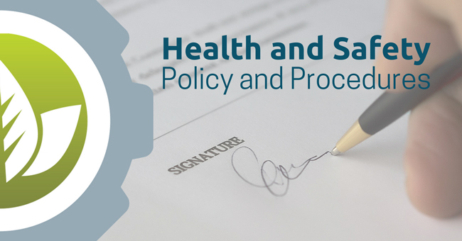 Your Health And Safety Policy And Procedures need to reflect your business and this post provides advice on how to do that