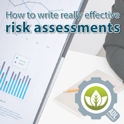 Problems following risk assessment steps?