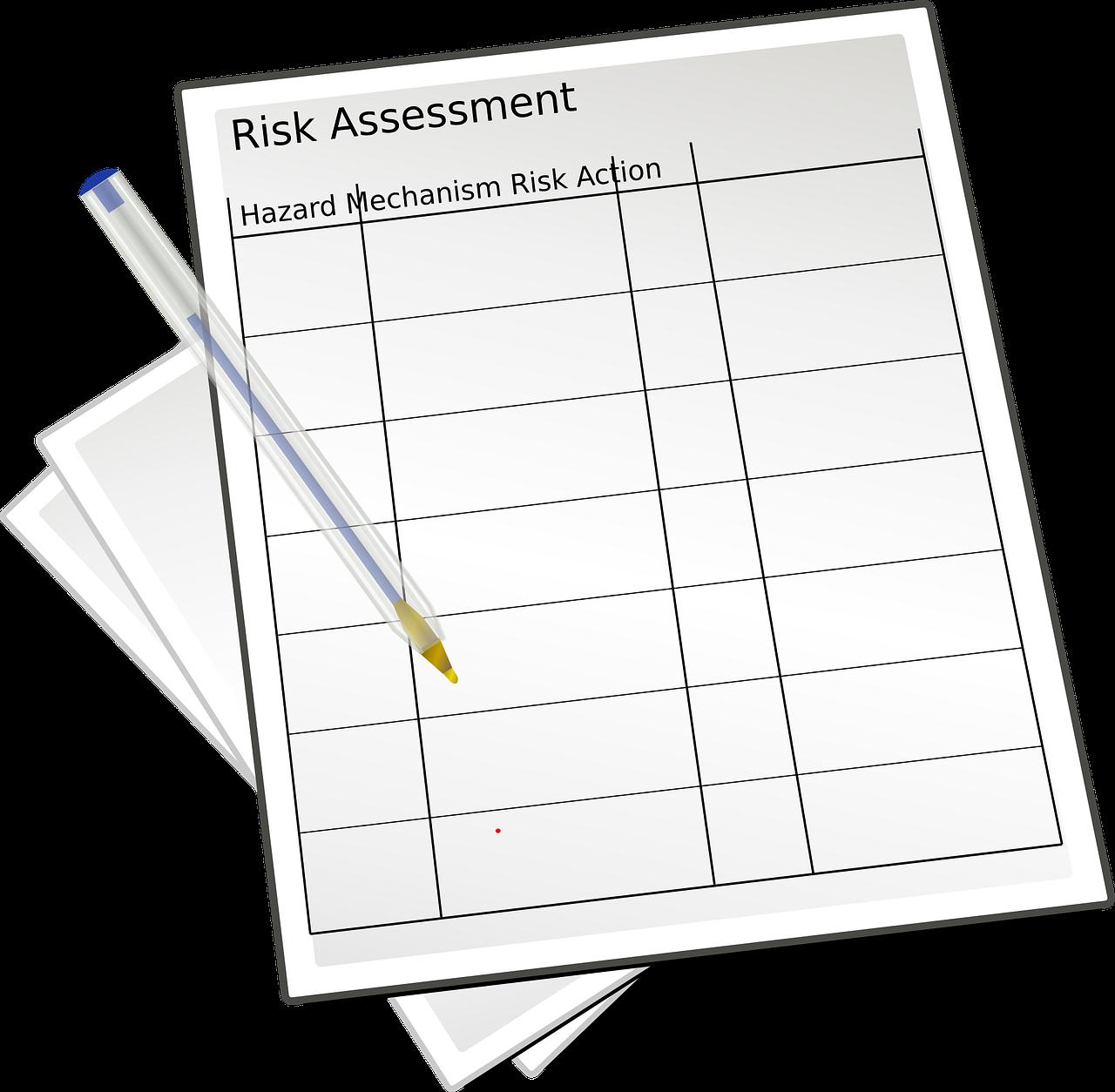 risk assessment steps to solve safety problems