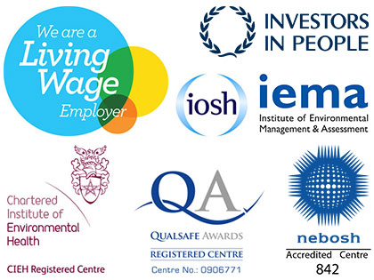 Living Wage Foundation, Investors in People, Memberships and Accredited Training Approvals