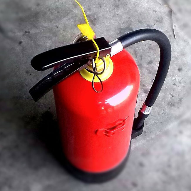 active fire protection from fire extinguishers and other equipment
