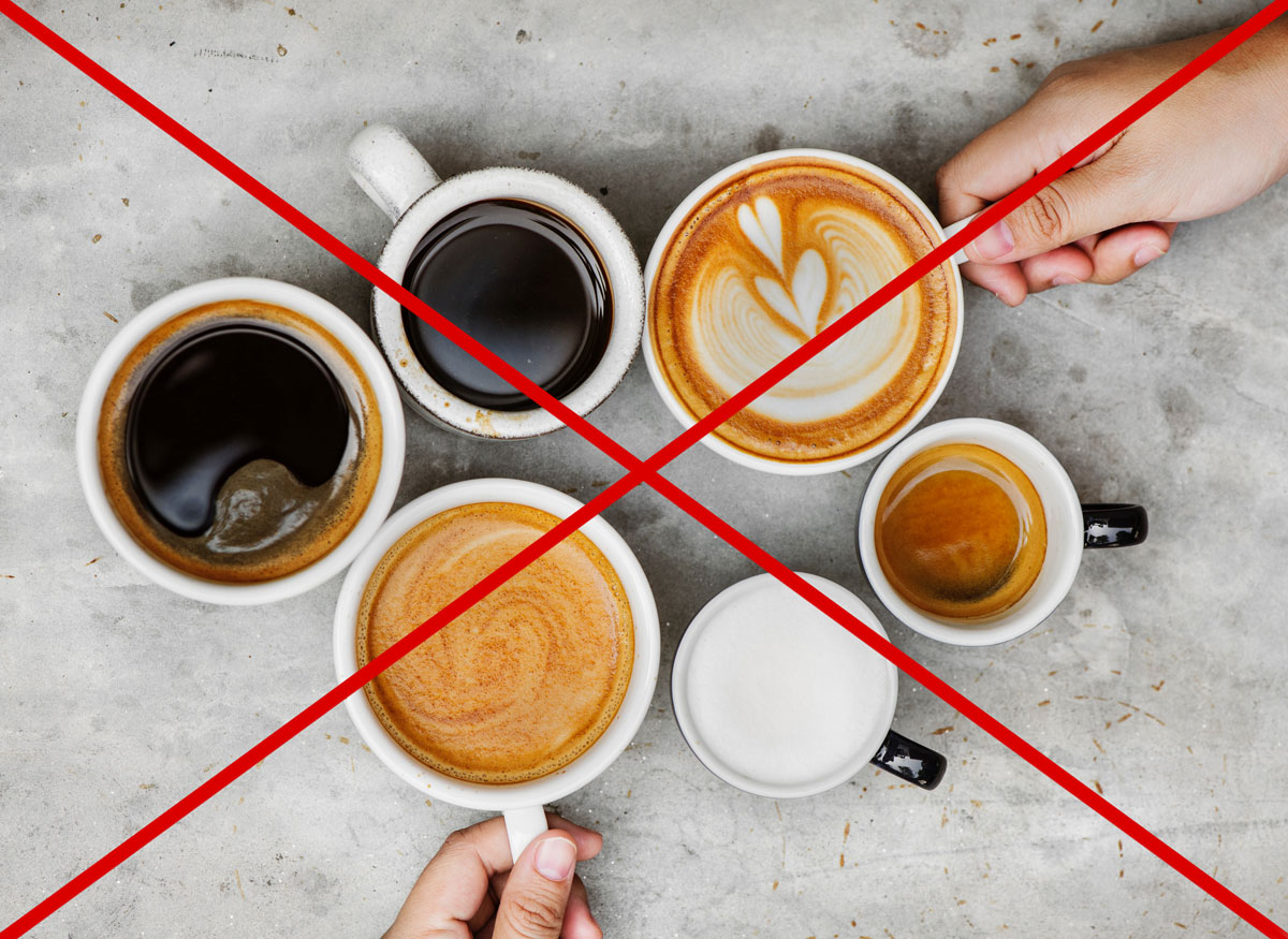 acrylamide foods to avoid and control - coffee